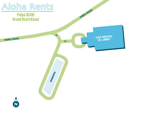 K3H Airport Map