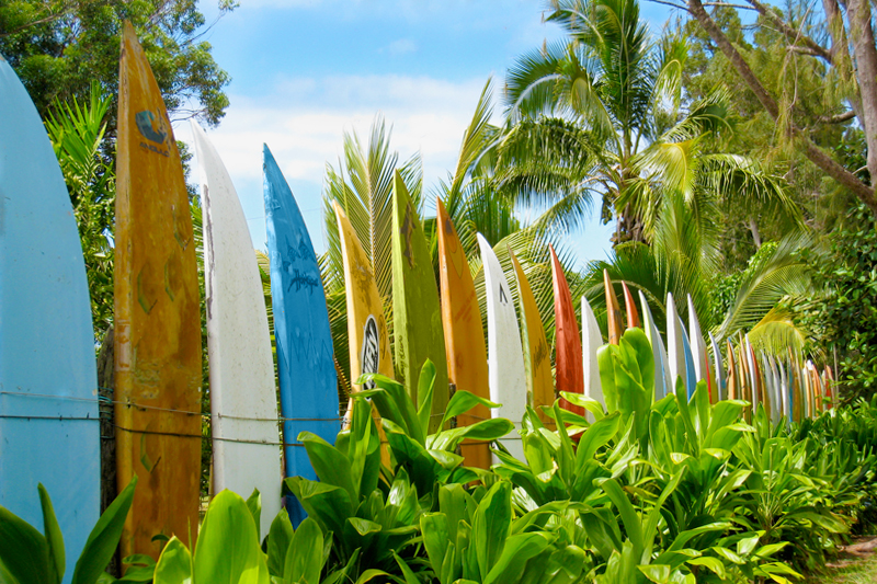 Map Directions To Surfboard Fence In Maui Hawaii
