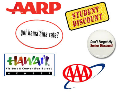 Member Discounts And Special Offers For Hawaii Car Rentals